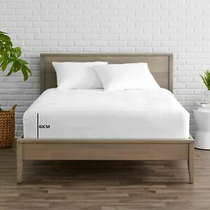 Extra Deep 100% Egyptian Sateen Cotton 600 TC (40 CM) Box Fitted Bed Sheets