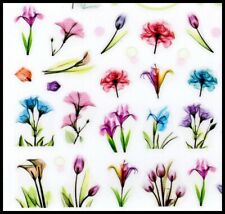 Beautiful Flower Stickers for Nails
