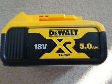Genuine Dewalt DCB184 5.0Ah 18V Li-Ion XR Battery Pack - New & Unused (Lot B)