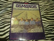 Osmonds Vintage Sheet Music Book - Used Vintage Condition