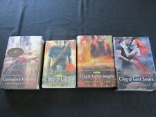 Lot of 4 Cassandra Clare Books Mortal Instruments 3, 4, 5, Infernal Devices 3
