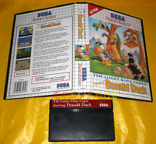 THE LUCKY DIME CAPER STARRING DONALD DUCK Master System PAL ○ SENZA MANUALE - CQ