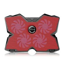 Fashion LED Light Laptop Cooling Pad Notebook Stand Laptop Cooler 12-17In Laptop