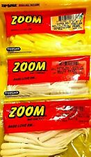 Zoom Split-Tail Trailer Super Salt Plus Soft Lure Choice of Color (One package)