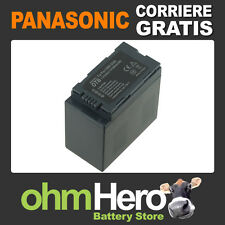 Batteria Alta Qualità SOSTITUISCE Panasonic CGAD54, CGA-D54, CGA-D54S,