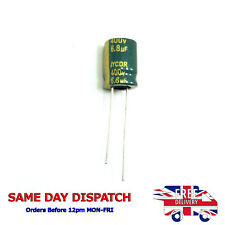 Nichicon Elko uld2g010med 1uf 400v Long Life 12000h 6,3x11mm rm2 5 #bp 4 PCS