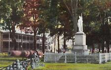 Antique POSTCARD c1907 Soldiers Monument SWANTON, VT VERMONT 17339