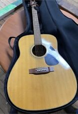Takamine G Series Eg-240 6 String Acoustic Guitar w/ Soft Case & extra