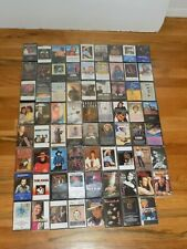 Country Music Cassette Lot of 71 tapes in good condition
