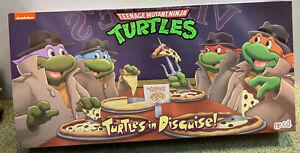NECA TMNT Teenage Mutant Ninja Turtles in Disguise 4 pack Target Exclusive - One
