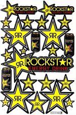 Rockstar Energy Sticker Decal Sheet Motocross Enduro Bike Auto BMX MTB ATV #2