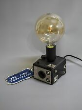 Camera Lamp Industrial Retro Vintage Upcycled Kodak Brownie Box Film Light LED
