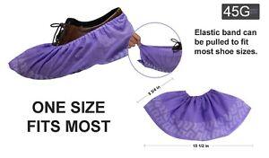 100Pcs Disposable Shoe Covers Non-woven Non-Slip Water Resistant Dust proof