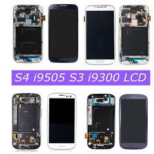 Per Samsung Galaxy S4 i9505 S3 i9300 Mini LCD Display Touch Screen Schermo Frame