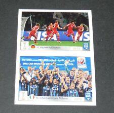 #23-24 BAYERN MÜNCHEN 2013 INTER 2010 PANINI FOOTBALL FIFA 365 2015-2016