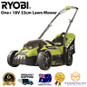 Ryobi 18V ONE+ Cordless Electric Lawn Mower 33cm Cutting - NEW & FREE DELIVERY