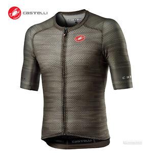 NEW 2021 Castelli CLIMBER'S 3.0 SL Lightweight Cycling Jersey : BARK GREEN