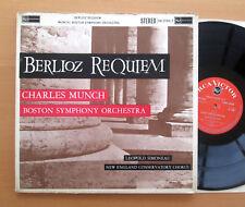 SB 2096/7 Berlioz Requiem Charles Munch Boston Symphony 2xLP STEREO RCA EX/VG