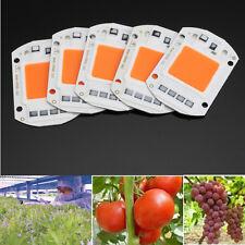 5x  50W Vollspektrum LED COB Grow Light Lampe Vollspektrum für Blumen & Gemüse