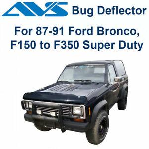 AVS 25439 Bugflector II Bug Deflector Hood Shield 1987-1991 Ford Pickup Bronco