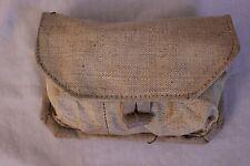 Soviet USSR Military Surplus Canvas Hand Grenade Pouch Belt Holster Bag VGC