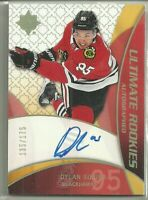2018 18-19 ULTIMATE ROOKIES AUTOGRAPHED AUTO DYLAN SIKURA #RRA-DS #'d 135/175 RC