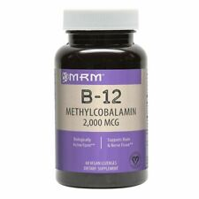 MRM B-12 Methylcobalmin 2,000mcg 60ct