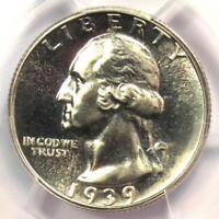 1939 Proof Washington Quarter 25C - Certified PCGS PR67 (PF67) - Rare Grade!
