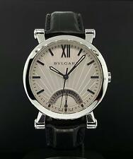Bvlgari Sotirio Retrograde Date Watch 42mm Stainless Steel Ref. SB42SDR Nice
