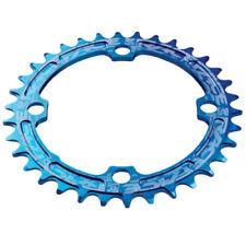 Plateaux de vélo bleu