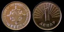 MACEDONIA 1 Denar 2000 MILLENNIUM UNC