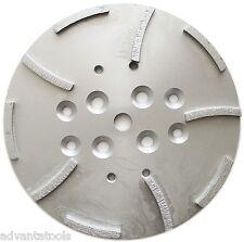 "10"" Diamond Grinding Disc Head for EDCO Blastrac Concrete Grinder - 10 Segments"