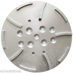 "10"" Concrete Grinding Head for EDCO Blastrac Grinders - 10 Seg 50/60 Grit"