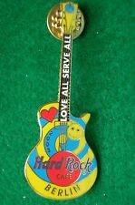 HRC Hard Rock Cafe Berlin Love Parade 2003 Guitar LE500