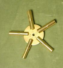 5 Prong Clock Key, Hi-Lo Number Sizes, 0,1,2,13,14
