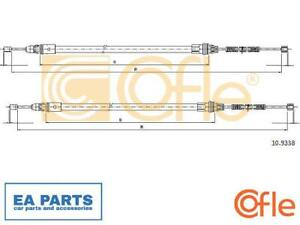 Cable, parking brake for SMART COFLE 10.9338 fits Rear, Left, Right