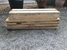 24 x 60cm Reclaimed Pallet Boards. WIDE Timber. * FAST DELIVERY* PLANTERS