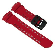 Casio G-Shock Bracelet Montre Resinband Rouge GBA-400-4B