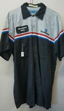 GM Mechanic Shirt Short Sleeve Med. uniform w/patch Goodwrench auto work M #21