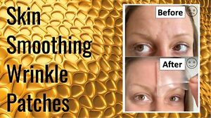 Wrinkle Smoothing Gel Patches Pads Forehead Face Eyes Cheeks Crows Feet Skin