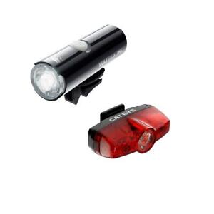 CatEye Volt 200 XC Front And Rapid Mini Rear USB Rechargeable Light Set