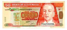 Guatemala ... P-94 ... 50 Quetzales ... 1985 ... *XF*
