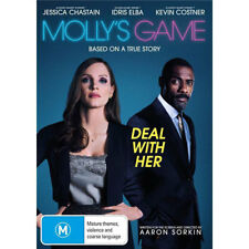 Molly's Game (DVD, 2017)