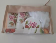 SHEA BUTTER GETAWAY BAG, Gift Set, Shower Gel, Body Butter & Lotion, Puff & Bag!