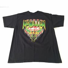 Terry McMillen NHRA Top Fuel Racing Tshirt Large Black Amalie Motor Oil