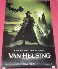 Van Helsing Movie Poster 27x40 D/S Hugh Jackman Kate Beckinsale Richard Roxburgh