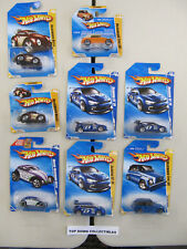 Hot Wheels  Lot Of 8 Volkswagen  Blue Cards From 90s & 2000s   1:64 New Unopened