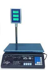 BILANCIA DIGITALE ELETTRONICA 30 KG DISPLAY LCD ELETTRONICO DA BANCO BANCONE BAR