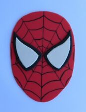 1 large 13cm edible SPIDERMAN face cake topper decoration SUPER HERO spider