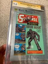 Tales of Suspense #39 CGC SS 9.6 SIGNED By Stan Lee Marvel Milestones Reprint